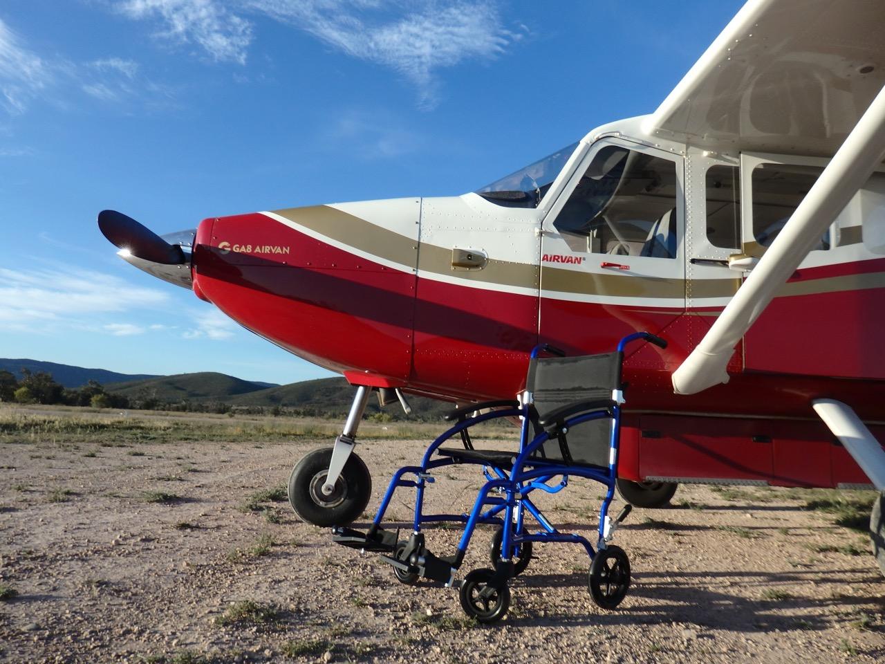 Wheelchair accessible plane
