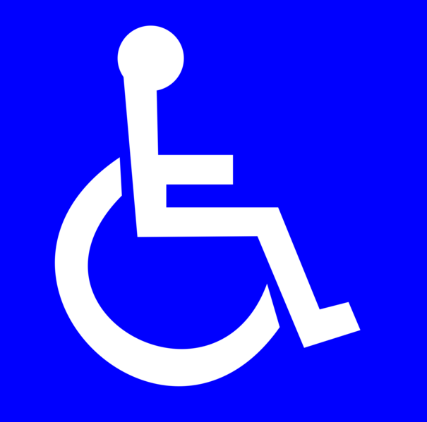 Current Wheelchair Access Symbol