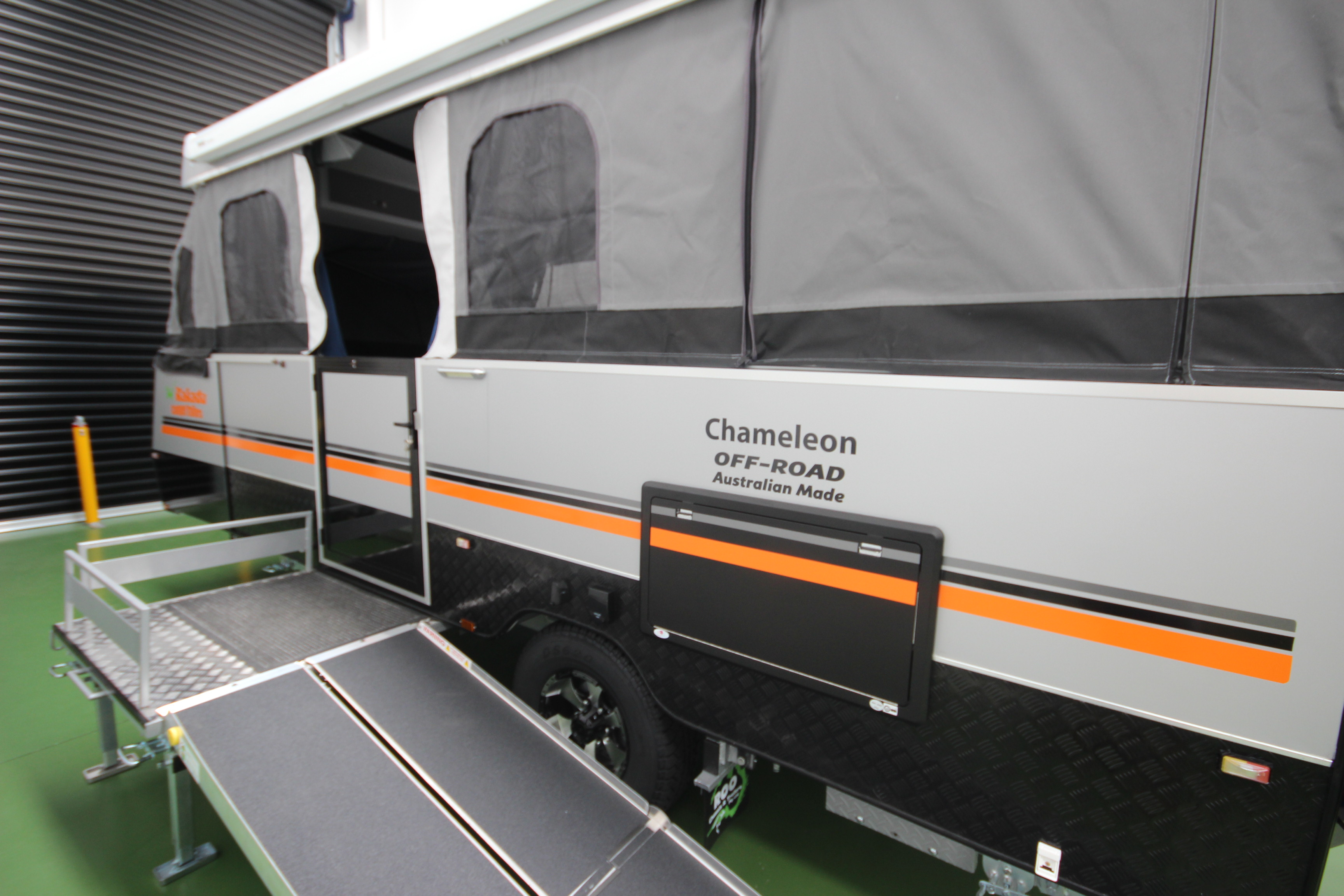 Off Road Wheelchair >> Go off road with a Wheelchair Accessible Camper Trailer ...